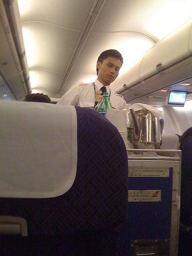 Male flight attendant hookup