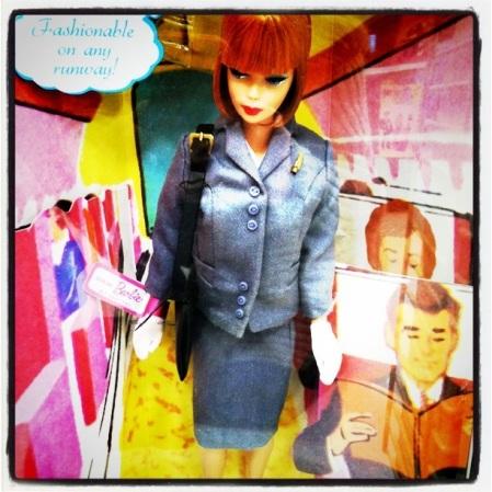Stewardess Barbie