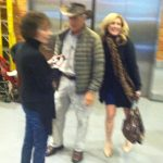 Here I am trying to take a quick sneaky photo with Jack Hanna.  I was too  embarrassed to ask him to pose with me.