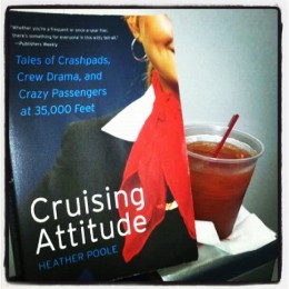 Is that my book drinking a Jack & Diet Coke in first class?  Perhaps.